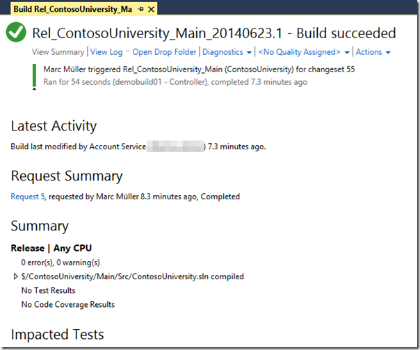 Custom Build Controller and Agent for Visual Studio Online Image